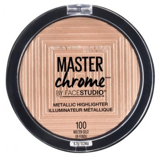 MAYBELLINE Master Chrome Metallic Molten Gold Highlighter