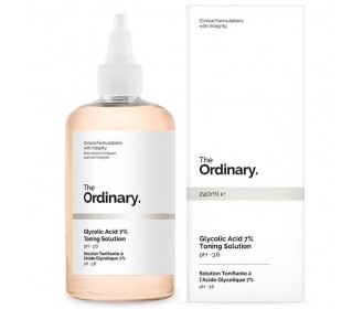 THE ORDINARY Glycolic Acid 7% Toning Solution Care