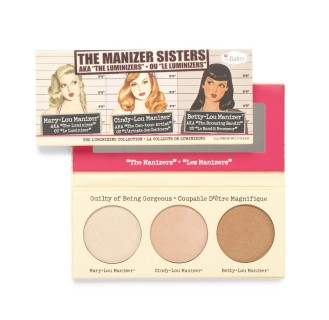 thebalm THE MANIZER SISTERS highlighter palette Makeup